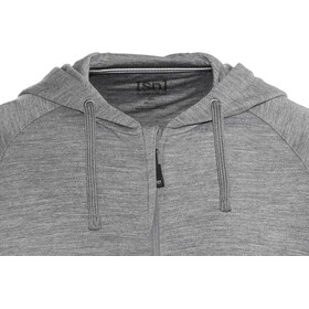 super.natural Essential Hoody Men Quiet Shade Melange